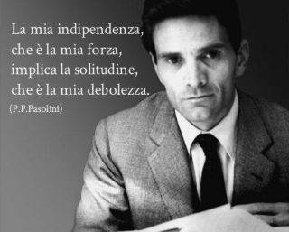 Pasolini morte del dialetto